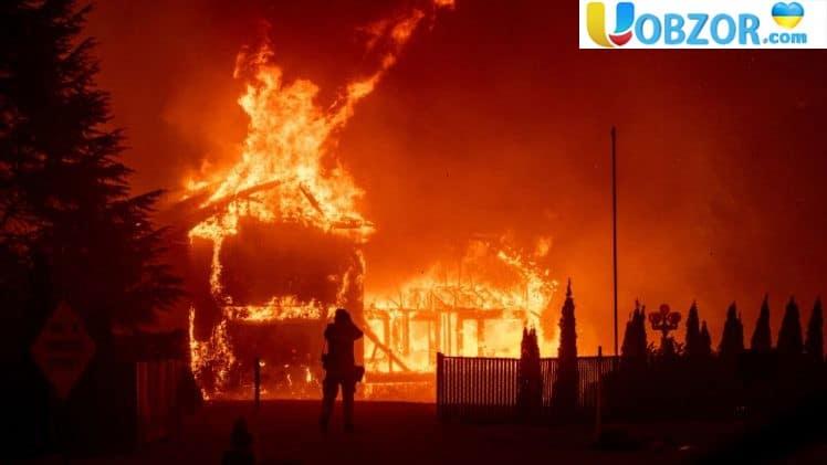 Число жертв пожеж в Каліфорнії досягло 74
