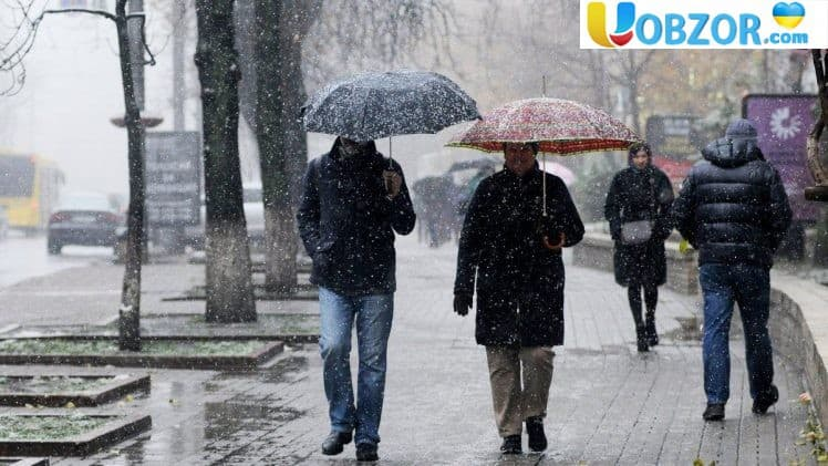 На вихідних українцям слід очікувати морозів до 11 градусів нижче нуля