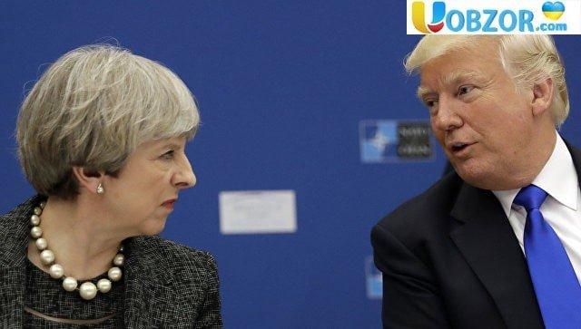 Трамп: угода Мей по Brexit може поставити під загрозу укладення торгового договору з США