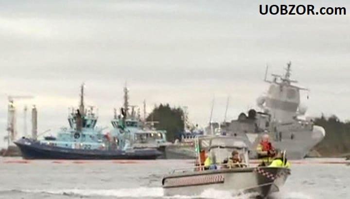 Зіткнення суден на навчаннях НАТО: норвезький фрегат вже не врятувати