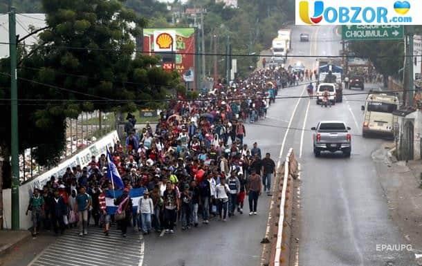 «КАРАВАН МІГРАНТІВ» в кількості 500 чоловік штурмували американський кордон