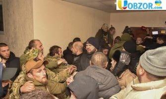 Масова бійка в одеському суді: затримано 49 осіб