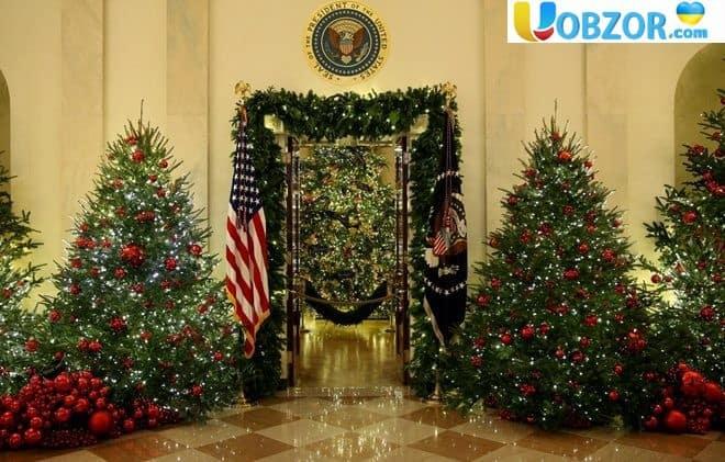 Різдво в Білому домі: як прикрасили резиденцію президента США