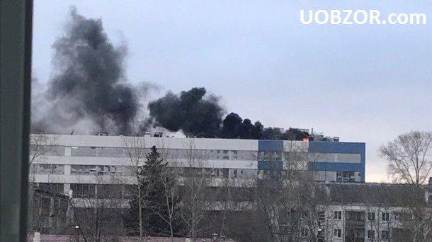 У Єкатеринбурзі загорівся завод