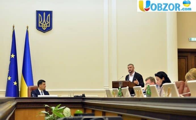 """Кабмін підтримав """"антирейдерський"""" законопроект"""
