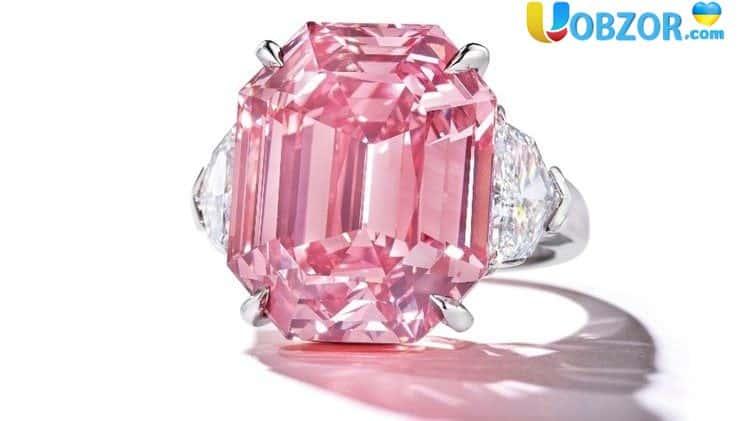 Продаж алмазу Pink Legacy поставила новий світовий рекорд