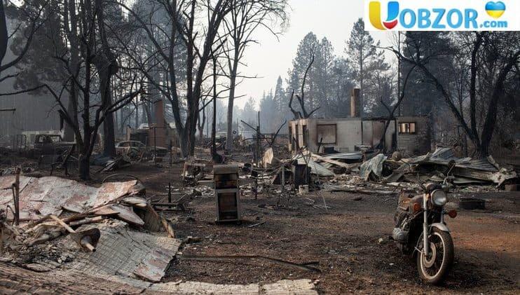 Збиток від пожеж у Каліфорнії може скласти $ 13 млрд