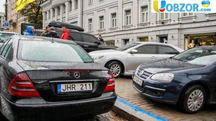Сегодня «евробляхеры» перекроют дороги по всей стране: место и время