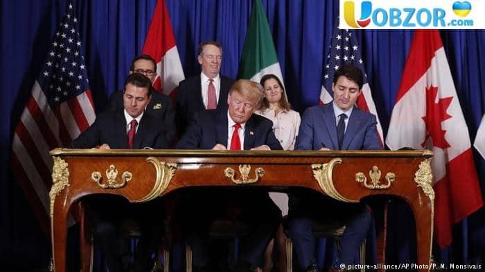 США, Мексика и Канада подписали новое торговое соглашение - USMCA