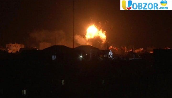 Ізраїль атакував 150 цілей в секторі Газа