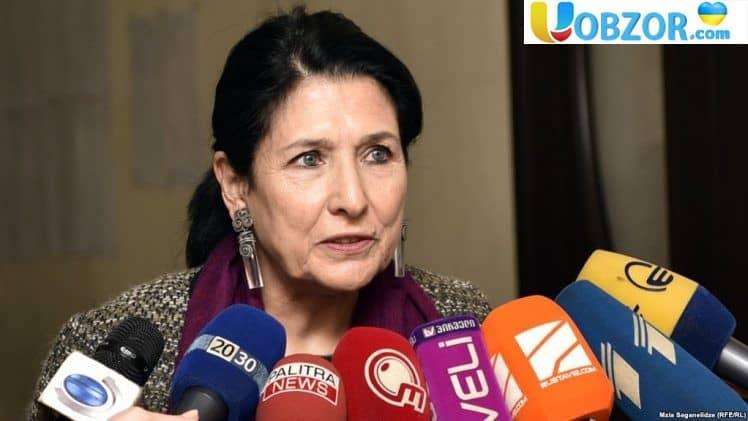 Новий президент Грузії заявила, що не готова співпрацювати з Росією без схвалення США і ЄС