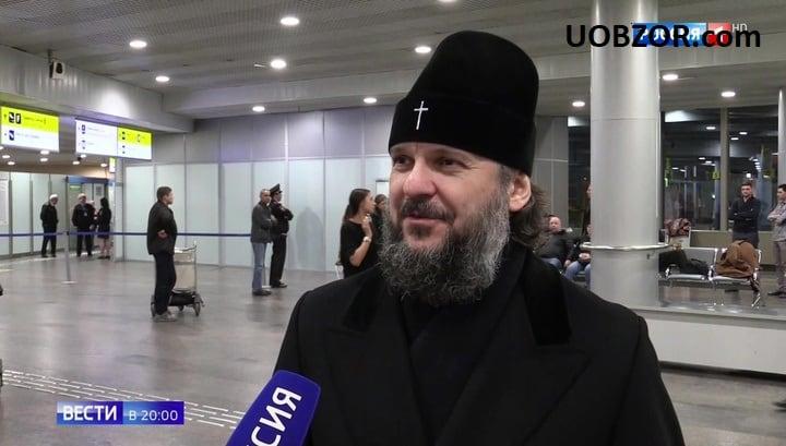 Архієпископ РПЦ Амвросій - агент Кремля