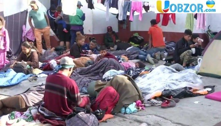 Караван, якого боялися в Америці, став проблемою Мексики