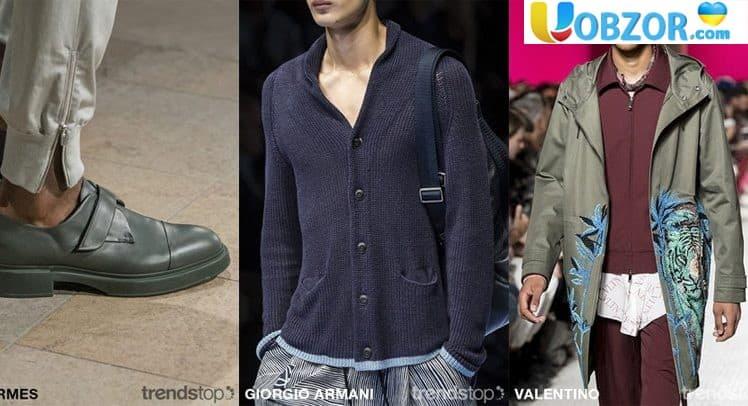 Головні кольори сезону весна-літо 2020 на ринку чоловічого одягу