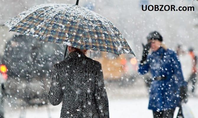 Когда наступит зима в Украине