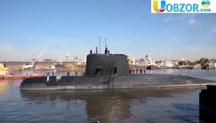 Підводний човен San Juan, який пропав біля берегів Аргентини знайдено