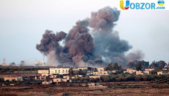 Коаліція завдала удару по Сирії бомбами з білим фосфором. Є жертви