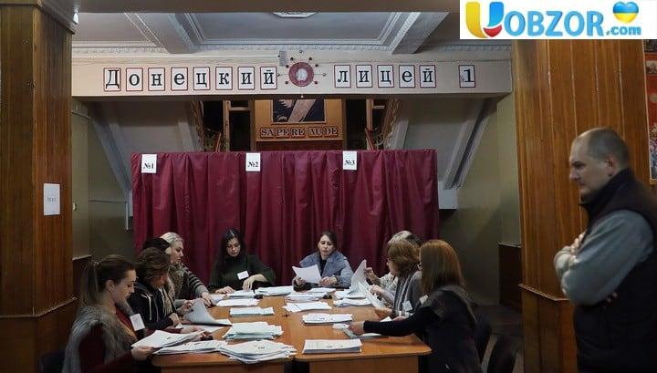 На виборах в ЛНР лідирує Пасічник, в ДНР - Пушилін