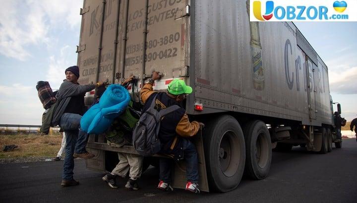 """У Мехіко прибули понад 500 учасників другого """"каравану мігрантів"""" з Центральної Америки"""