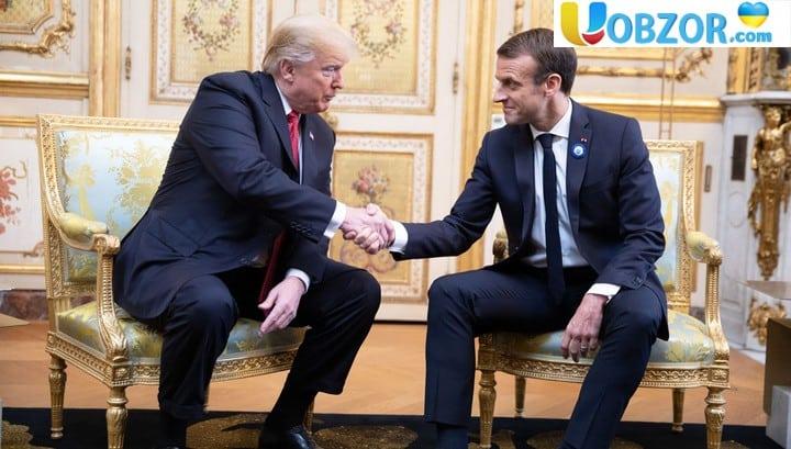 Трамп - Макрону: Франція хоче захиститися від США, але нападала завжди Німеччина