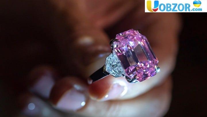 Унікальний рожевий діамант продано за рекордну суму