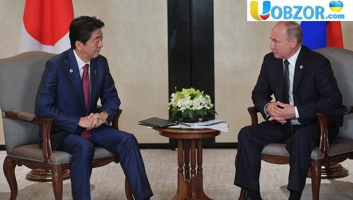 Путін і Абе активізують переговори щодо мирного договору