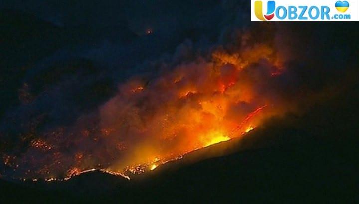 Число жертв лісових пожеж в Каліфорнії досягло 58