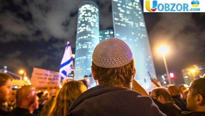 Жителі Тель-Авіва вийшли на мітинг проти перемир'я з палестинськими угрупуваннями