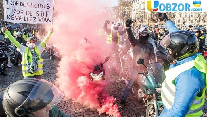 Число поранених при паливних протестах у Франції досягло чотири сотні