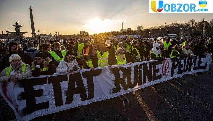 Паливний протест у Франції. Затримано понад 100 осіб