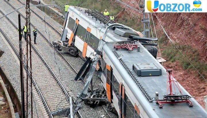Залізнична катастрофа в Каталонії: 49 постраждалих