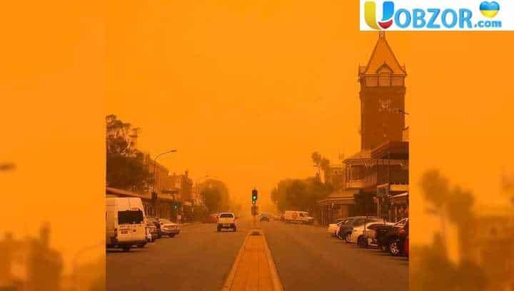 Масштабна піщана буря накрила Сідней і Канберру