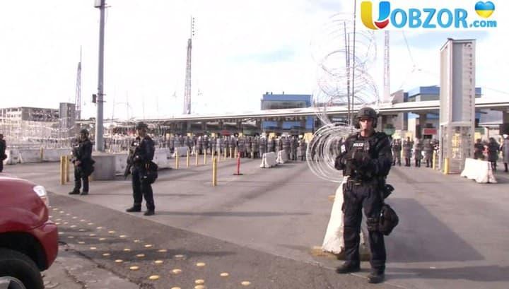 Караван мігрантів на кордоні з США: ситуація загострюється