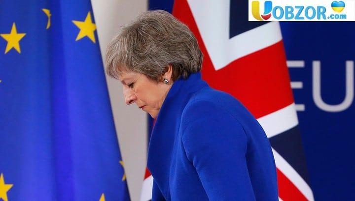 Пристрасті по Brexit: політичний авторитет Мей потрапив під удар