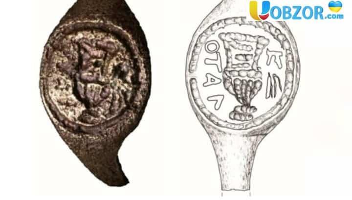Знайдений півстоліття тому при розкопках Іродеона артефакт виявився кільцем Пілата