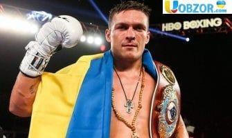 Олександр Усик боксер року за версією SPORTS ILLUSTRATED