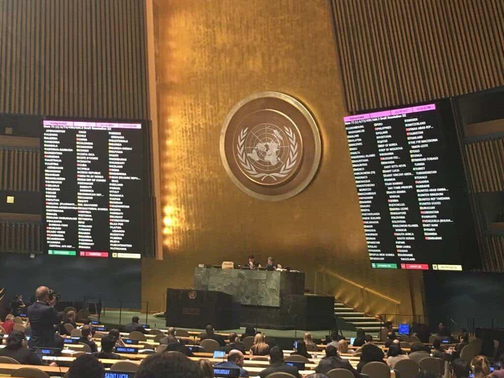 Резолюція ООН по Криму - свідоцтво твердої підтримки України миром