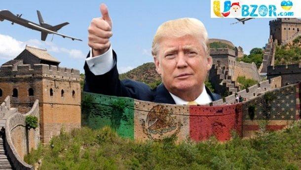 Будівництво стіни. Трамп нагадав про важливість захисту кордону
