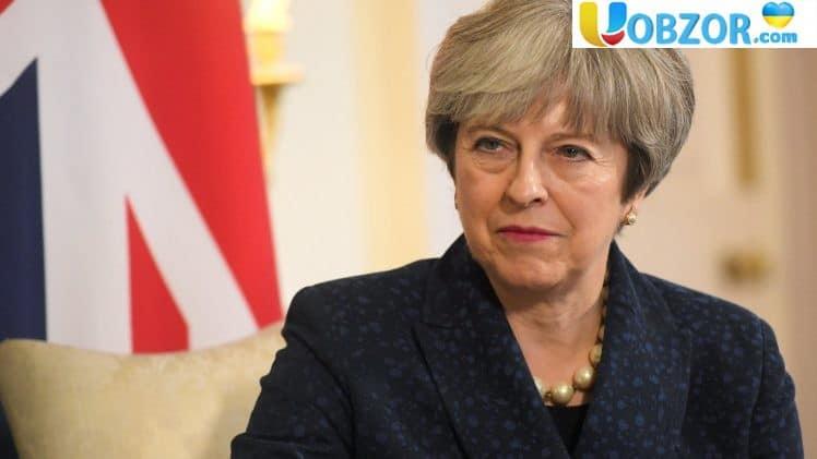 Вихід Великобританії із ЄС без угоди з Brexit. - Сценарій Терези Мей