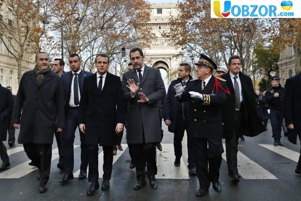 Протести в Парижі: демонстранти пошкодили Тріумфальну арку