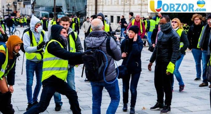 Паливний протест: у центрі Парижа затримано 39 осіб