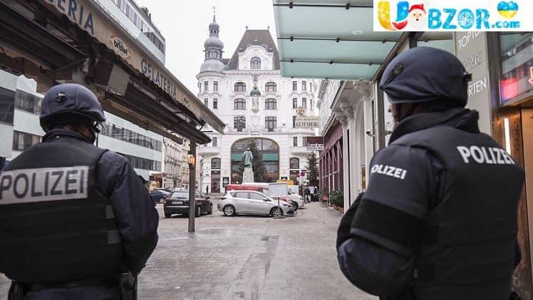 Пограбування в Відні, постраждали десятки людей