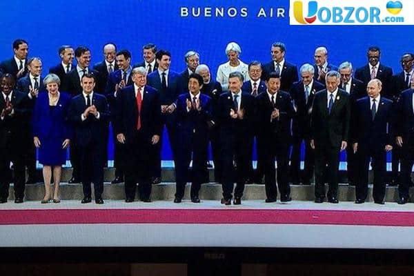 Саміт G20 в Буенос-Айресі: на порядку денному - гострі питання