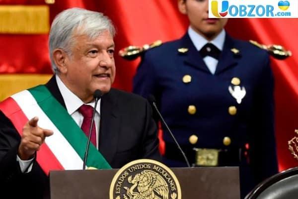 Мексика: Андрес Мануель Лопес Обрадор склав присягу президента