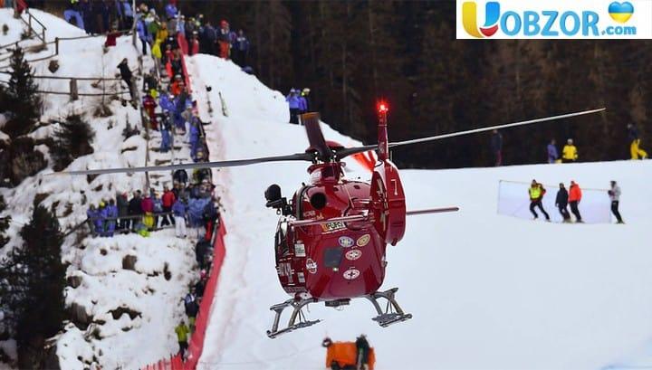 Марк Гізін - гірськолижник зі Швейцарії розбився на турнірі в Італії