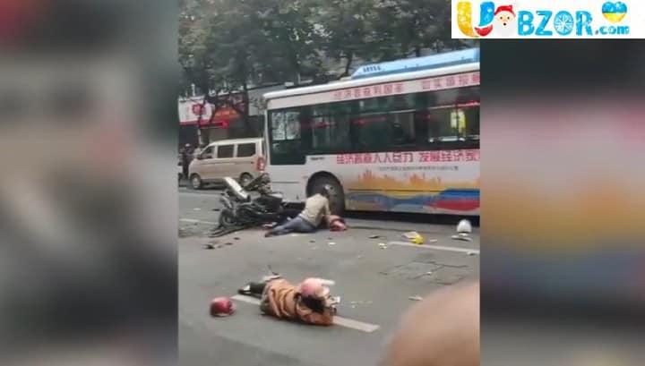 Масове ДТП в Китаї. 5 загиблих