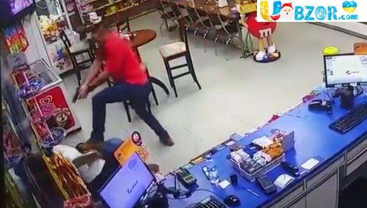 Пограбування бразильської АЗС: вбито грабіжника