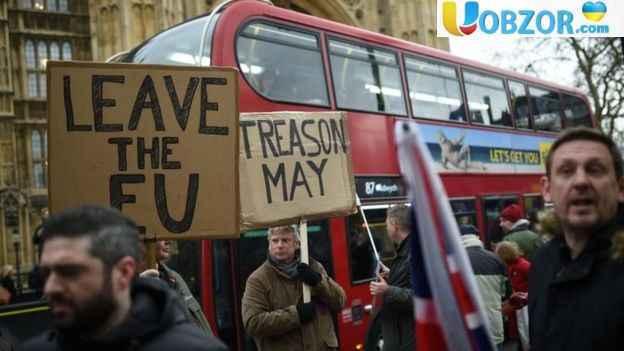 Парламент Британії проголосував проти угоди по Brexit