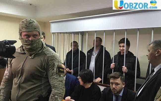 Московський суд продовжив термін арешту 20 українським морякам