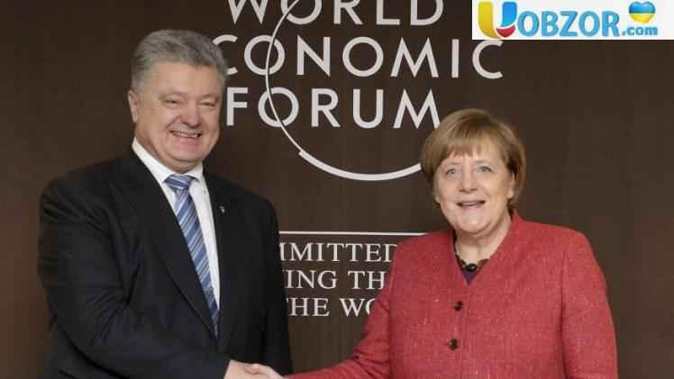 Порошенко і Меркель обговорили загострення конфлікту в Азовському морі